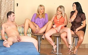 Moms Foursome Porn Pictures