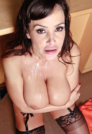 Cum on Moms Tits Porn Pictures